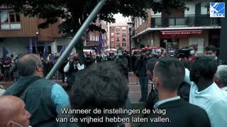 Antifa verstoort campagne VOX