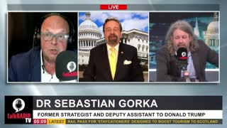 The UK thinks Biden is a joke. Sebastian Gorka with Whale & Ash on talkRadio