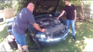 3800 Supercharged Engine removal Part1