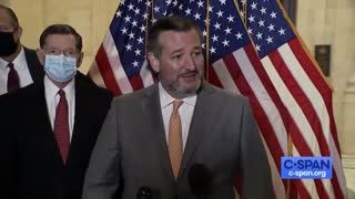 Ted Cruz Has EPIC Message To Reporter Asking Him To Wear A Mask