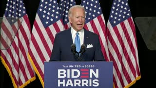 Joe Biden And Kamala Harris First Press Conference Together After Announcing VP Selection