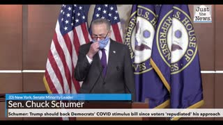Schumer: Trump should back Democrats' COVID stimulus bill since voters 'repudiated' his approach