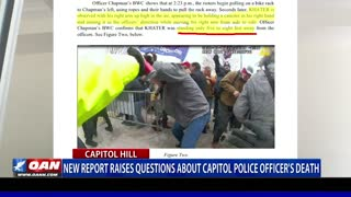 New report raises questions about Capitol police officer's death