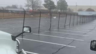 Snowing in Memphis