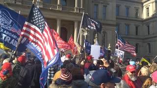 Trump Rally - Michigan State Capitol