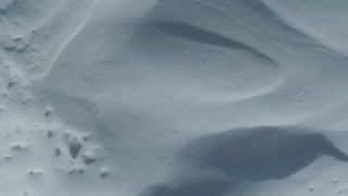 Very beautiful white snow.