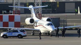 Trump's Personal Jet.