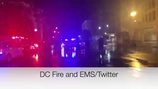 Video shows lighting that struck National Guard soldiers in D.C.