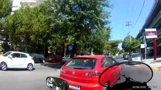 Road rage in Greece