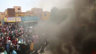 Miles de personas se manifiestan a favor de una transición civil en Sudán