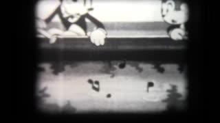 """Early Animation - """"Jolly Fish"""" cartoon"""