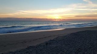 January Sunrise Over The Atlantic At Vero Beach, FL