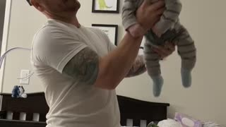 Daddy plus Little Man