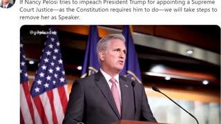 Mr. Kevin MacCarthy to Nancy Pelosi
