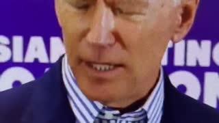 Biden stumbling speech