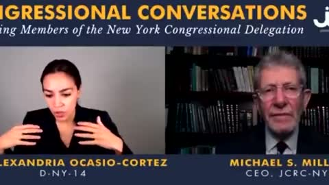 Incoherent AOC Babbles For Two Minutes About Israeli-Palestinian Conflict, Says Nothing of Meaning