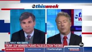 Rand Paul Goes Into Beast Mode Over Voter Fraud Big Lie