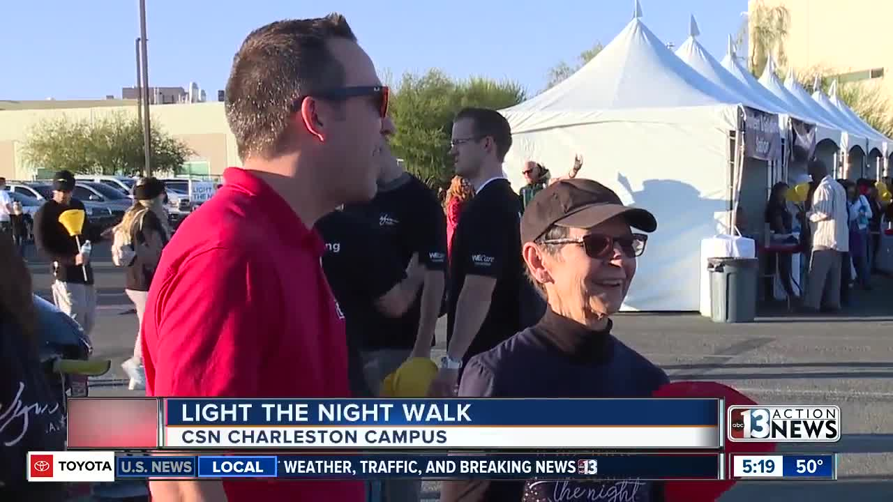 Light The Night Walk in Las Vegas