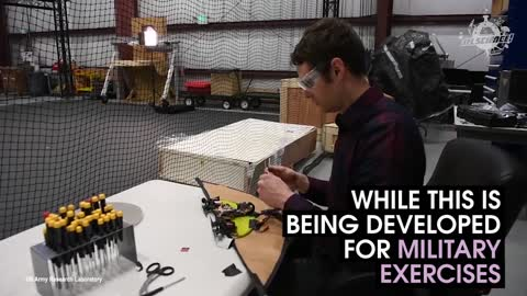 This Drone Was Inspired By Flying Squirrels