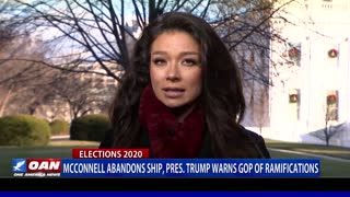 McConnell abandons ship, President Trump warns GOP of ramifications