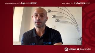 Barcelona great Mascherano discusses Messi's future