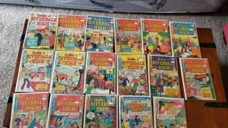 Archie at Riverdale High comic books Archie Comics