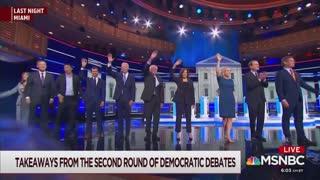 Joe Scarborough slams Democrat debate part 2