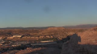 Time-lapse From The Top Of Castle Rock