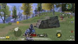 Final Kill in BR with Zero Recoil Gun!