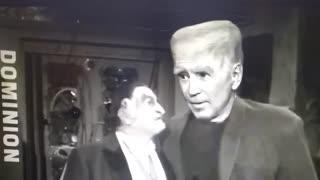 Joe Biden Munsters Dominion Voting Machine Satire