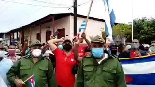 Cubans Rising Up Against Communist Regime