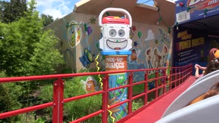 Slinky Dog Dash opening Day Toy Story Land Disney Hollywood Studios in 4K