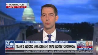 Sen. Cotton Torches Impeachment