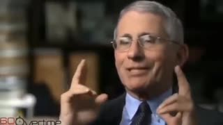 """Dr.Fauci says """"People should not wear masks"""""""