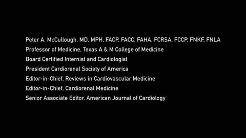 Dr. Peter McCullough Interview 5/19/2021 (Short Version)