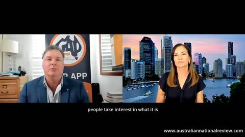 Episode 055 - Margie Interviews Former Australian Senator Rod Culleton - Subtitled Version