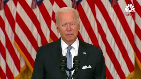Joe Biden's Afghanistan 'Press Conference,' Condensed
