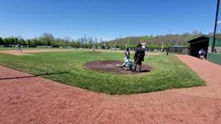 Ball Hits Camera During Baseball Game