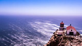 Relax Library: Video 39.Fast moving ocean waves. Relaxing videos and sounds