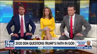 Buttigieg questions Trump's faith