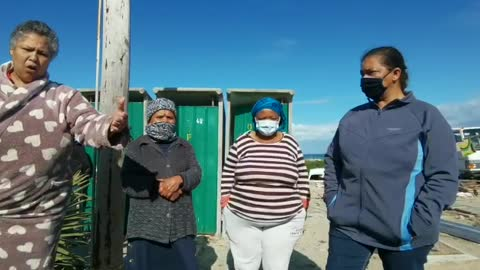 Homeless shelter for Strandfontein