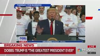 Chris Matthews makes weird joke about the 'bromance' between Lou Dobbs and Trump