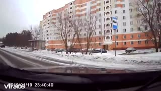 Car Dash Instant accident with dash cams