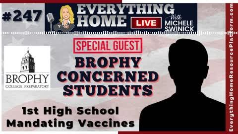 1st Catholic School To Mandate Vaccines For STUDENTS - Arizona's Brophy College Prep Discriminates