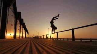 Sunrise Beach Handstand