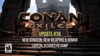 Conan Exiles - Update 36 Warmaker Dungeon and More Trailer