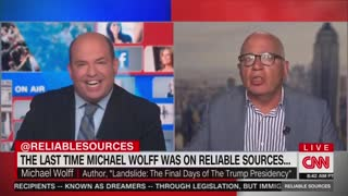 HILARIOUS: Brian Stelter Gets EMBARRASSED On His Own Show By Guest