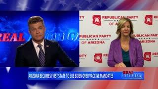 Real America - Dan Ball W/ Kelli Ward, Election Audit Update, 9/15/21
