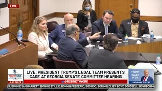 Witness #14 Speaks at GA Senate Committee Hearing on Allegations of Election Fraud. 12/03/20.