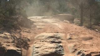 Broken Arrow trail in Sedona - DarknessJKU